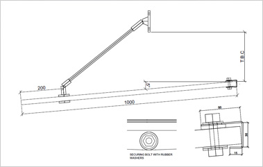 CAD Drawings for Metal Canopy Commercial Metal Awnings  sc 1 st  rainwear : canopy support - memphite.com