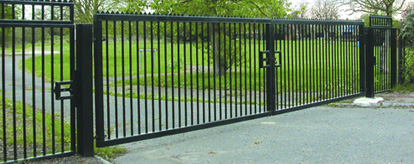 custom made heavy duty steel gates and railings