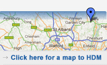 click here to view our location in Herftord, Hertfordshire on an interactive map