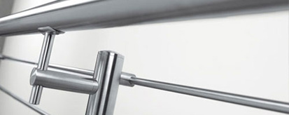 We use all only the best modular handrail systems on our balustrade installations